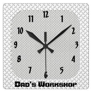 Dad's Workshop Wallclock