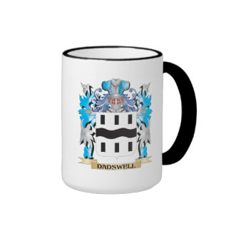 Dadswell Coat of Arms - Family Crest Ringer Mug