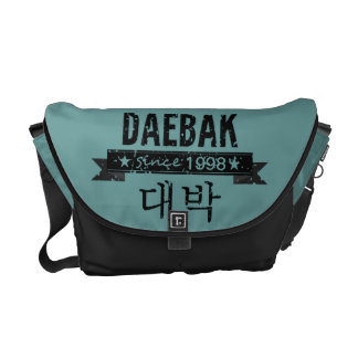 Daebak is Korean for Awesome (in Grunge) Messenger Bags