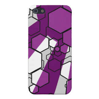 Daedal (Purple) iPhone Case Cover For iPhone 5