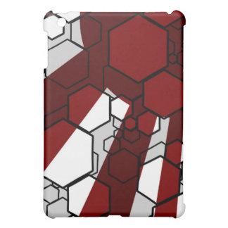 Daedal Red iPad Case