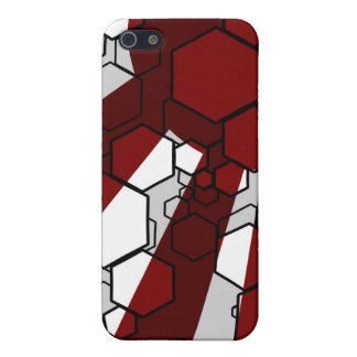 Daedal Red iPhone Case iPhone 5 Cover