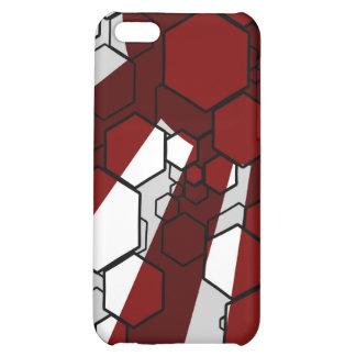 Daedal Red iPhone Case iPhone 5C Case