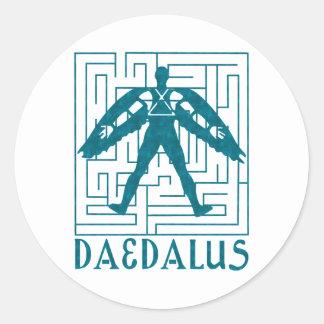 Daedalus Classic Round Sticker
