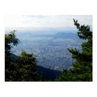 Daegu, South Korea Postcard