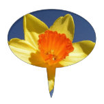 Daffodil Against Blue Sky Cake Toppers