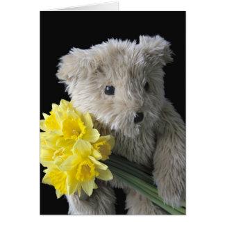 daffodil bear card
