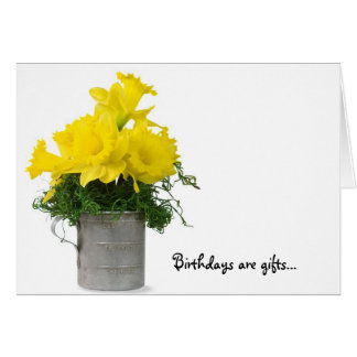 Daffodil Bouquet Card