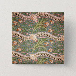 Daffodil Chintz', 1875 15 Cm Square Badge