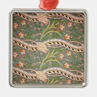 Daffodil Chintz', 1875 Christmas Ornament