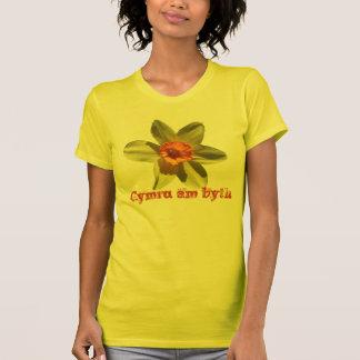Daffodil, Cymru am byth - National Welsh flower T-Shirt