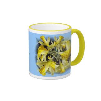DAFFODIL DANCE Ringer Mug