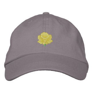Daffodil Embroidered Hat