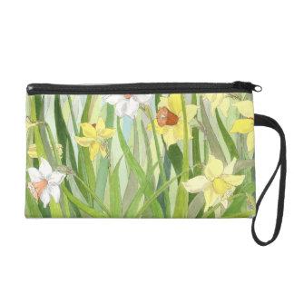 Daffodil Fields Wristlet