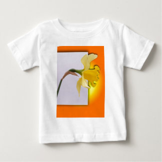 Daffodil flower out the frame baby T-Shirt