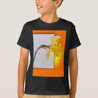 Daffodil flower out the frame T-Shirt