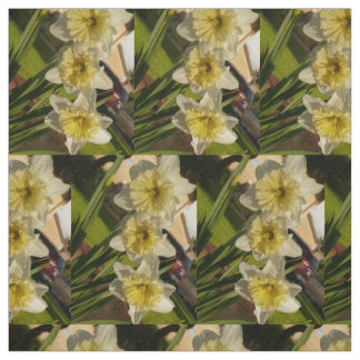 daffodil for spring fabric
