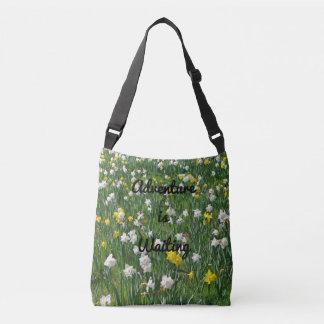 Daffodil Garden Crossbody Bag