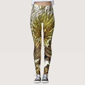 Daffodil leggings