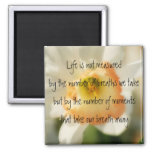 Daffodil Life Quote Magnet