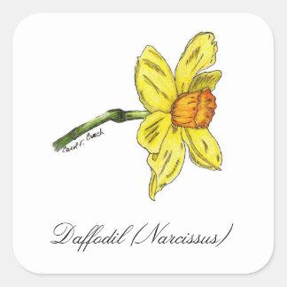 Daffodil (Narcissus) Botanical Seal