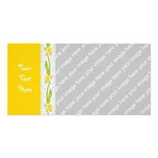 Daffodil Pattern Card