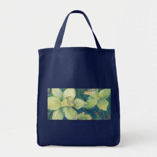 Daffodil Pistachio Grocery Tote