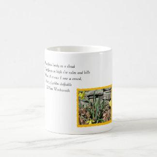 Daffodil Poetry Coffee Mug