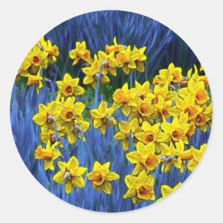 Daffodil Spring Fantasy Stickers