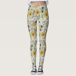 Daffodil Surprise Leggings