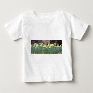 daffodil wood.jpg baby T-Shirt