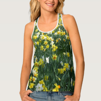 Daffodils All over Print Tank Top