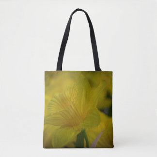Daffodils all-over-print tote bag