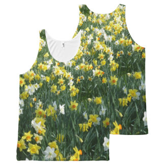 Daffodils All over Printed Unisex Top