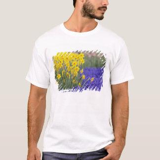 Daffodils and Grape Hyacinth, Keukenhof 3 T-Shirt