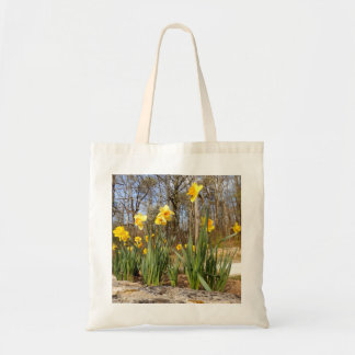Daffodils at Easter Budget Tote Bag