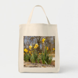 Daffodils at Easter Grocery Tote Bag