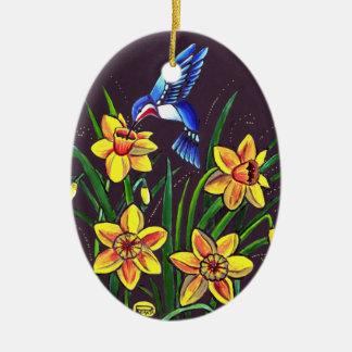 Daffodils Christmas Ornament