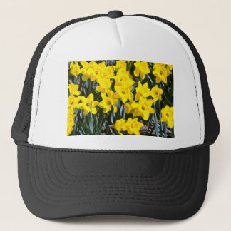 Daffodils  flowers trucker hat