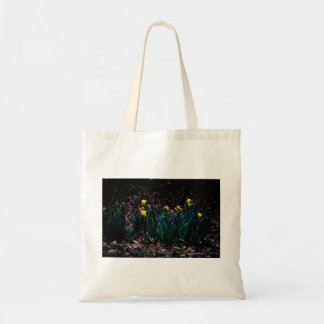 Daffodils in bloom tote bag