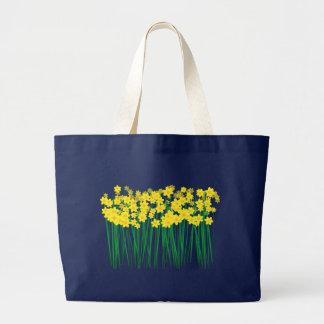 Daffodils. Large Tote Bag
