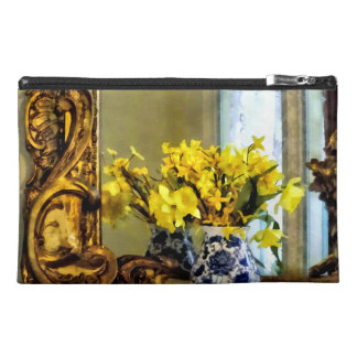 Daffodils on Mantelpiece Travel Accessories Bag