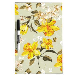 Daffodils spring 2 Dry Erase Board