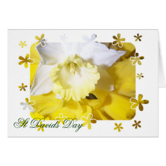 Daffodils St Davids Day Stationery Note Card