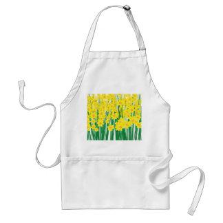 Daffodils. Standard Apron