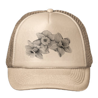 Daffodils Trucker Hats