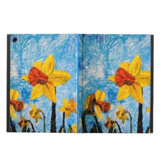 Daffy Daffs of Spring iPad Case
