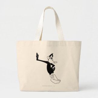 DAFFY DUCK™ Leaning Against a Wall Large Tote Bag