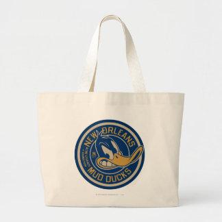 DAFFY DUCK™ Mud Ducks Round Logo Tote Bags