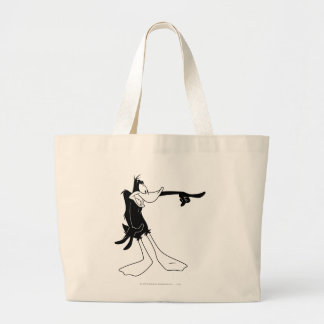 DAFFY DUCK™ Shocked and Pointing Large Tote Bag